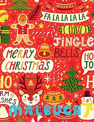 ✌ Fröhliche Weihnachten Malbuch 7 Jahre ✌ (Malbuch 7 Jährige): ✌ Merry Christmas Coloring Book Kids ✌ Coloring Book 3 Year Old ... Book Kids Easy (German Edition) ✌