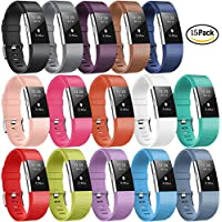 For Fitbit Charge 2 Strap, DigiHero Replacement Accessory Sport Band Strap for Fitbit Charge 2 HR