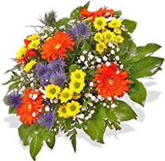 """Blumenstrauß Blumenversand""""Dankeschön.!"""" +Gratis Grußkarte+Wunschtermin+Frischhaltemittel+Geschenkverpackung"""