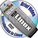 Linux sur clé USB 16 GB et 5-DVD, installation et configuration de référence ensemble, 64-bit: Ubuntu 16.10, Fedora 25, Debian 8 et Kubuntu 16.10