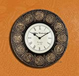 Collectible India Zodiac Sign Wall Clock...
