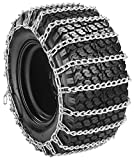 2 Link Tire Chain 4 X 4.80 X 8 DEEP LUG TREAD