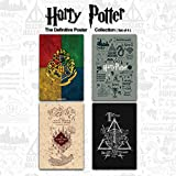 #6: Mc Sid Razz Official Harry Potter- The Definitive Poster - Collection (Set of 4)