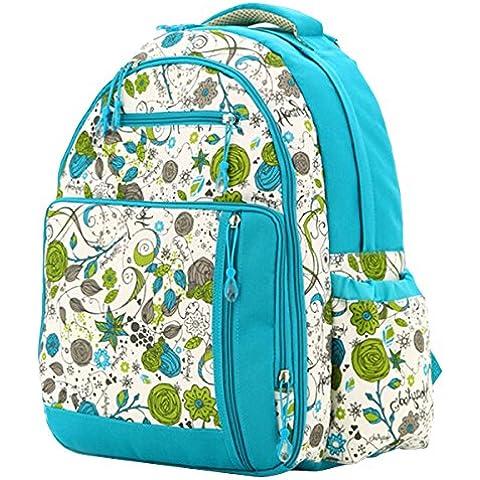 Aivtalk Bolso Maternal Mochila Multifunción Cambiador de Pañales Backpack para Carro Carrito de Bebé Biberón Botella Comida Viaje 30cm(L) x 19cm(W) x 41cm(H) - 7 Colores a Elegir