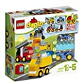 LEGO - 10816 - DUPLO - Jeu de Construction - Mes Premiers Véhicules