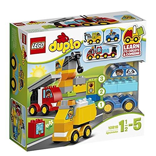 LEGO – 10816 – DUPLO – Jeu de Construction – Mes Premiers Véhicules