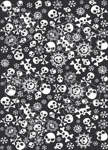 cama24com Tischdecke Bones, Halloween Party, Totenkopf, Piraten Party Palandi® (Halloween-party Für Die Schatzsuche)
