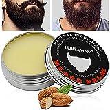 Bart Balm,Beard Balm,Bartwachs,Bändigen Sie Ihren Bart Ohne Fettigkeit – Für Ein Dichteres Und Volleres Aussehen-Perfektes Geschenk zum Vatertag