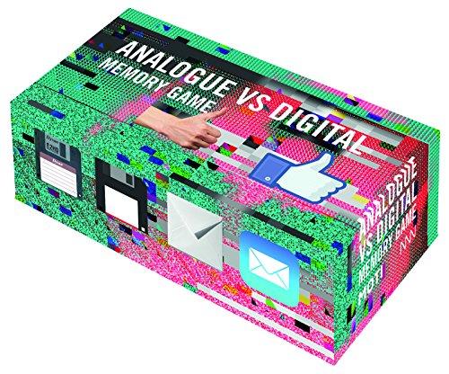 Analogue vs digital memory game par Mieke Gerritzen