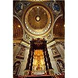Impresión en madera 60 x 90 cm: San Pietro Church (St. Peter's Basilica) de Pablo Cersosimo / Robert Harding
