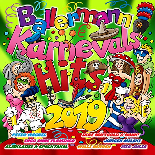 Ballermann Karnevals Hits 2019...