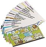 Playtastic Zubehör zu Spielzeug zum Lernen: Lernkarten-Set für NX-1189'JuniorI' Zahlen & Formen, 32 S. (Interaktive Lernspiel-Stifte)