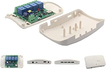 Rishil World Geekcreit ABS Case for Geekcreit DIY 4 Channel Relay Jog WiFi Wireless Smart Home Switch
