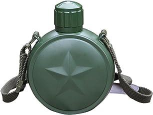 Bloomma 800ml Camping fünfzackigem Stern Bedruckt Edelstahl Wasser Flasche Kantinen für Outdoor Sport Reise Tasse Vakuum Topf Flasche