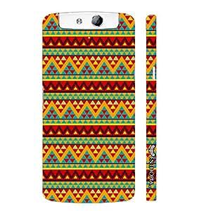 Oppo N1 Aztec Eleven designer mobile hard shell case by Enthopia