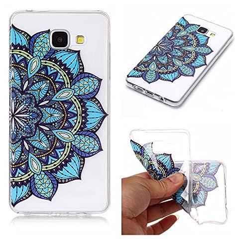 Galaxy A5 2016 Hülle, Anlike Samsung Galaxy A5 2016 /SM-A510F (5,2 Zoll) Handy Hülle [Bunte Muster Design] Schutzhülle - (Disney Tinkerbell Licht)