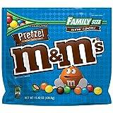 Pretzel M&M's Large Family Size Bag 436.6g - Pretzel m&ms - American Candy 15 oz Bag ...