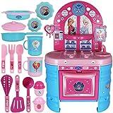 TW24 Disney Kinderküche - Kinderspielküche - Spielküche Deluxe Frozen