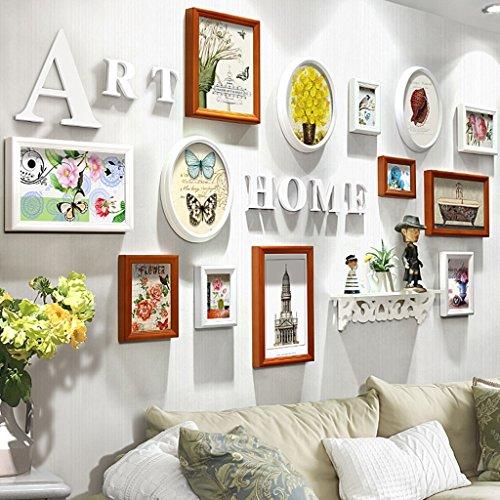 Home @ Wall Bilderrahmen Foto Wand Hochzeitsgeschenke Schlafzimmer Wohnzimmer Wand ( Farbe : C , größe : 202*102cm )