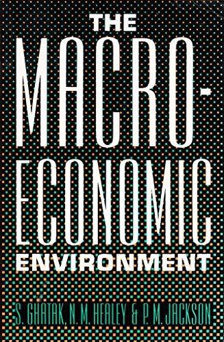 The Macroeconomic Environment