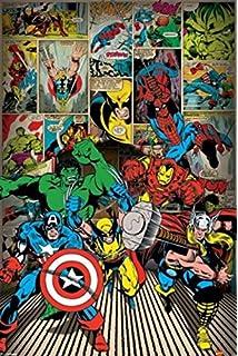 Multicolore 30 x 40 x 3 8 cm Marvel WDC12103 Avengers: Endgame Toile imprim/ée 30 x 40 cm