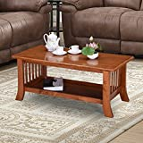 #7: Royal Oak Vita Coffee Table (Dirty Oak)