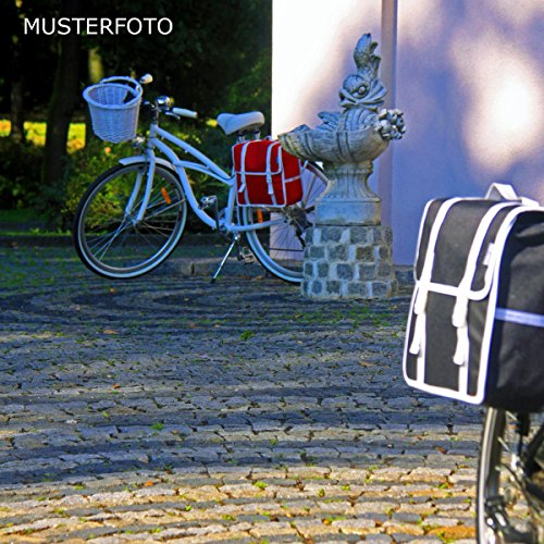 C-BAGS BASIC single CLASSIC Gepäckträger Fahrradtasche Tasche verschiedene Muster Black