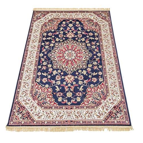 Webtappeti tappeto orientale disegno classico tappeto arredo rubine 317-blu 120x160
