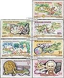 Ungarn 3014A-3020A (kompl.Ausg.) 1975 100. Geburtstag Dr. Schweitzer (Briefmarken für Sammler)