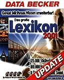 Das große Data Becker Lexikon 2001. Update. 4 CD- ROM für Windows ab 95, NT4/2000 -