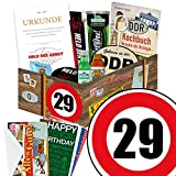 29. Geburtstag Männer Geschenk - MÄNNER Box mit DDR Waren + Geschenkverpackung