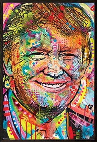 Rahmen USA ART Wand, Walnuss, 61x - Dean Artwork Russo