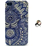 PowerQ Plastic Colorful Pattern Bunte Muster Kunststoff Serie f�r Apple Iphone 4S 4G 4 IPhone4 IPhone4S Apple4S H�lle Beutel Pattern Print Printing Drawing Muster Druck Zeichnung mobilen Handy Abdeckung sch�tzen Skin Case Cover + 1* Anti Dust Plug (6)