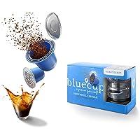 BLUECUP Capsules Rechargeables Nespresso, Dosettes Réutilisables Compatibles avec les Machines Nespresso (gamme Original…