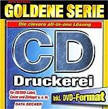 Produkt-Bild: Goldene Serie. Die große CD- Druckerei. CD- ROM für Windows ab 95