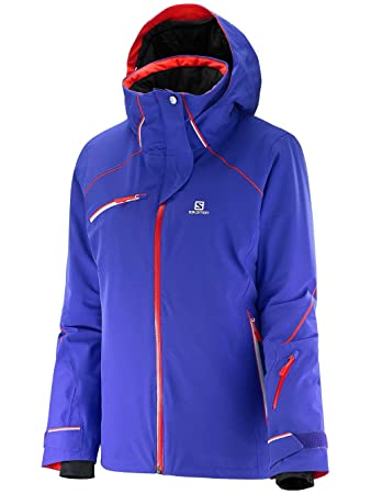 Damen Snowboard Jacke Salomon Speed Jacke: : Sport