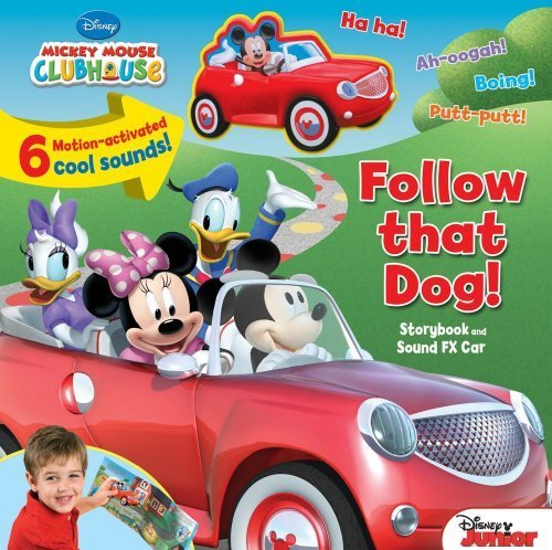 Disney Mickey Mouse Clubhouse: Follow That Dog!: Storybook and Sound FX Car (Sounds FX Toy) by Disney Mickey Mouse Clubhouse (2012-03-06)