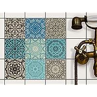 Fliesen Deko Fliesenaufkleber Für Küche U. Bad   Fliesenfolie  Fliesensticker Klebefliesen Mosaikfliesen Dekorfolie   10x10