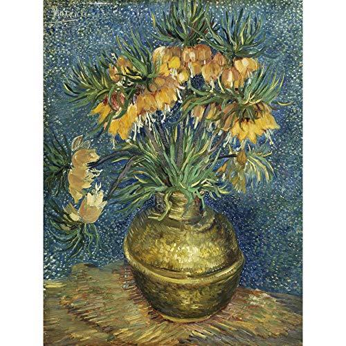 Vincent Van Gogh Imperial Fritillaries In A Copper Vase Large Art Print Poster Wall Decor Premium Mural Große Kunst Wand Deko Imperial Vase