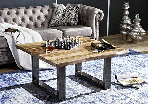 Table basse carrée 90x90cm – Bois massif de palissandre laqué (Noble Unique) - SYDNEY #0316