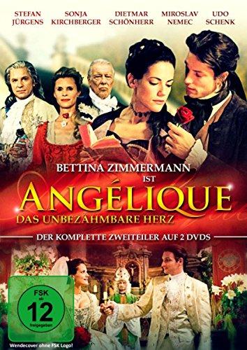 Angélique - Das unbezähmbare Herz (Der komplette 2-Teiler mit Starbesetzung) [2 DVDs]
