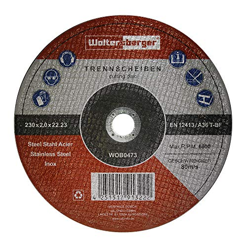 Dimensioni 75/X 457/mm Grana 100/P 10/pezzi woltersberger tessuto schleifbaender