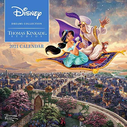 Disney Dreams Collection by Thomas Kinkade Studios 2021 Calendar