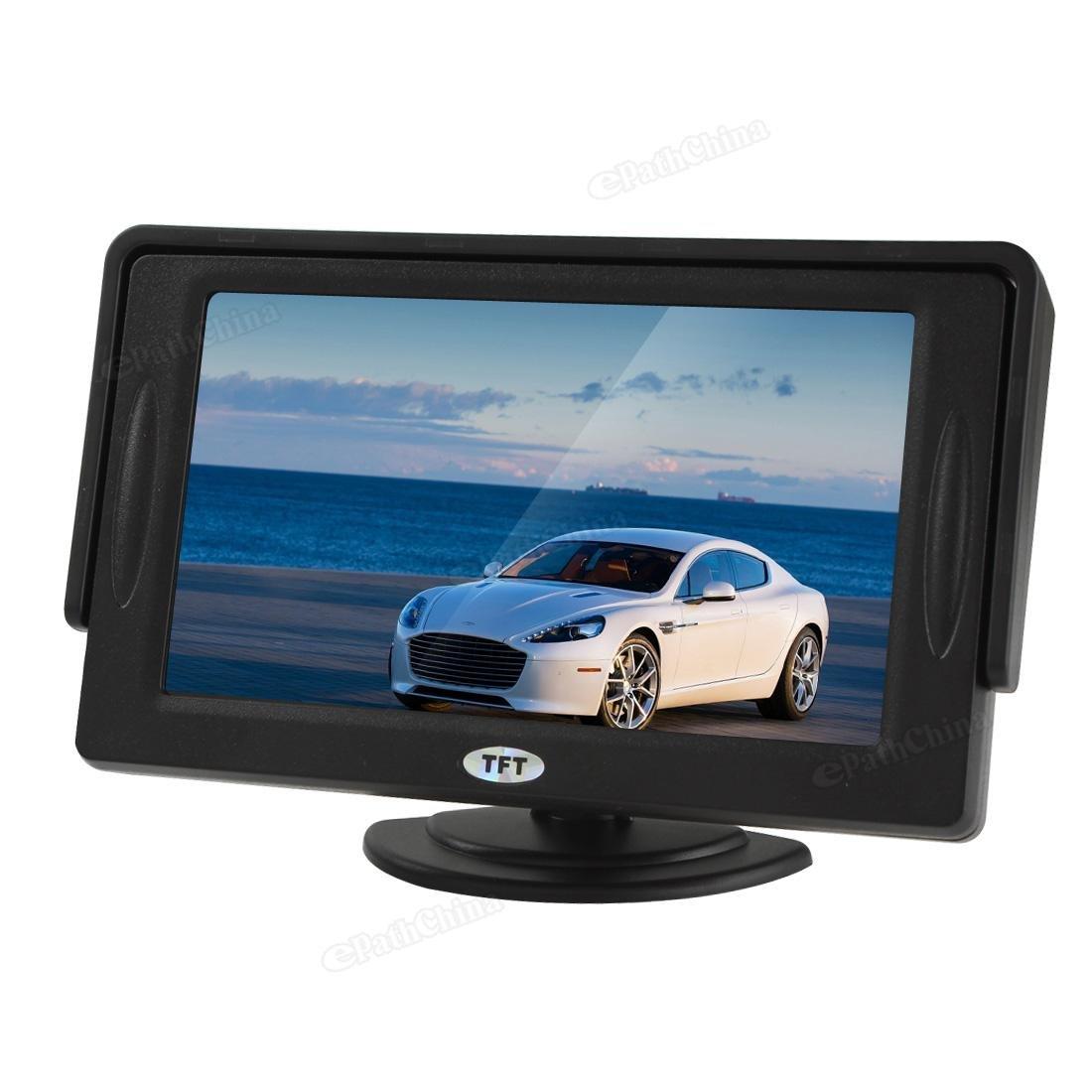 monitor auto bw 3,5/4,3/5 inch tft-lcd: amazon.it: elettronica - Tft Arredo Bagno Prezzi