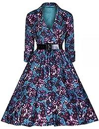 E-Girl M116618D Robe de bal Vintage pin-up 50's Rockabilly robe de soirée cocktail,S-XXL