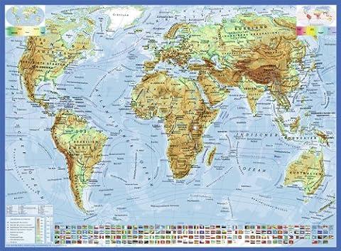 Ravensburger - 13097 9 - Puzzle - Carte Du Monde Politique - 300 Pièces