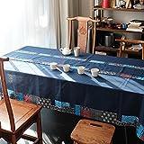 Liudaye Nationalen Wind Stoff Baumwolle Leinen Tabelle Tuch rechteckige Tischdecke Haushalt Teetisch Abdeckung Handtuch
