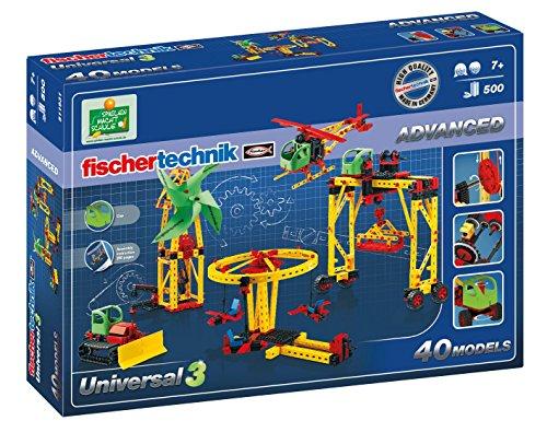 fischertechnik ADVANCED Universal 3, Konstruktionsbaukasten - - Zahnrad-puzzle