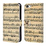 Head Case Mozart Partitions Musicales Étui Coque de Livre En cuir pour Apple iPhone 5 / 5s