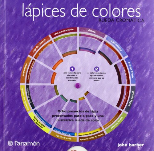 LAPICES DE COLORES RUEDA CROMATICA (Rueda cromática) por John Barber